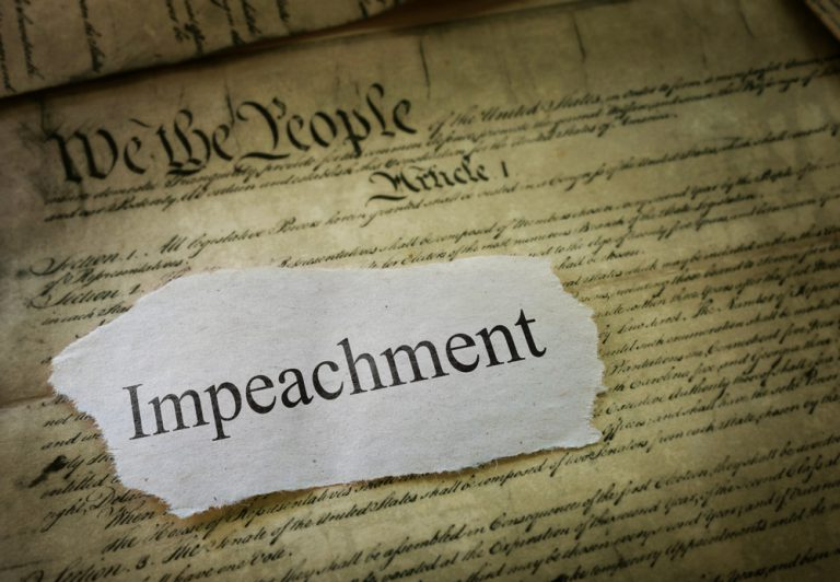 impeachment newspaper