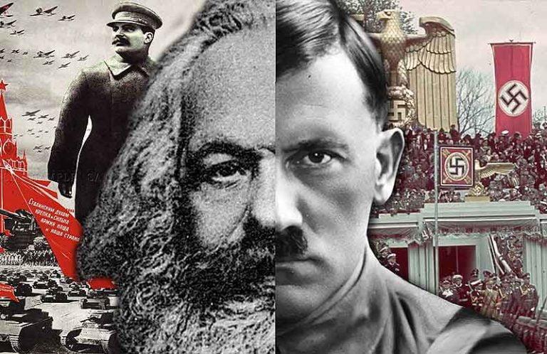 socialismo nazismo hitler marx